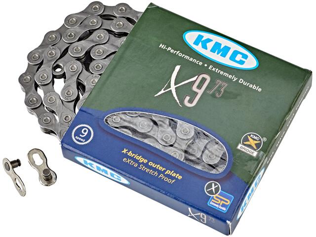 KMC X-9-73 Kette 9-fach silver/grey